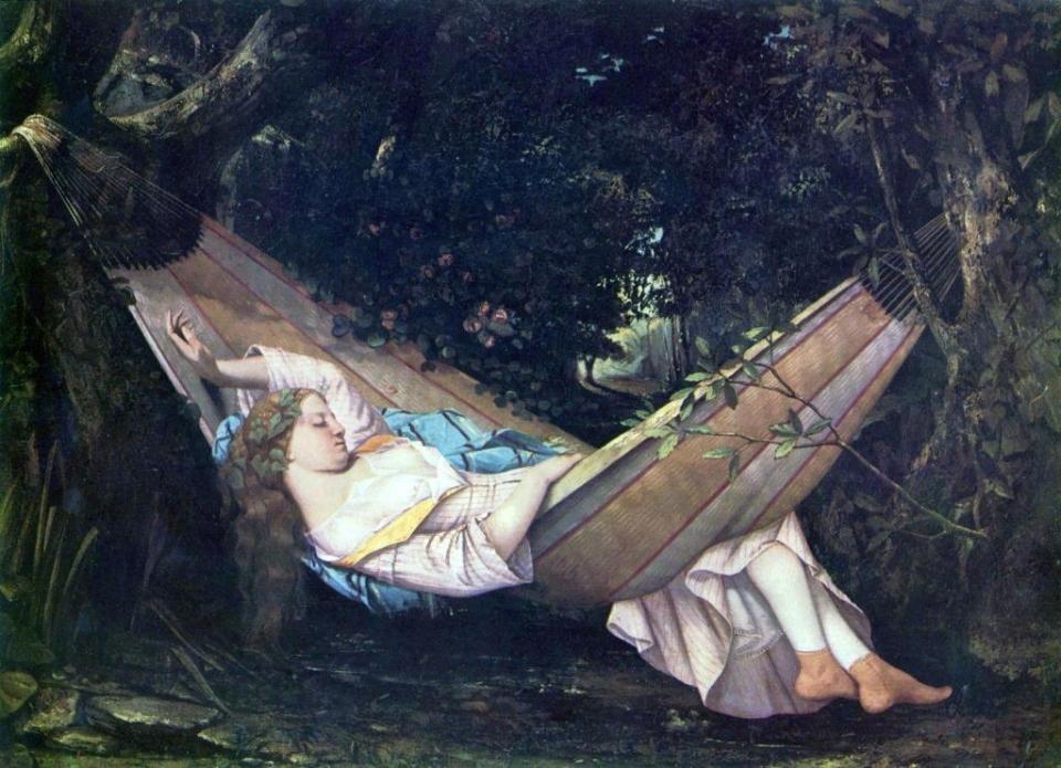 Le Hamac, Gustave Courbet