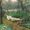 Dans le hamac, Anders Zorn