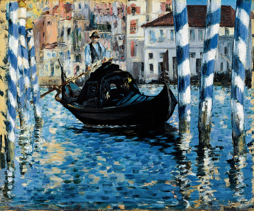 Le Grand Canal de Venise, Édouard Manet