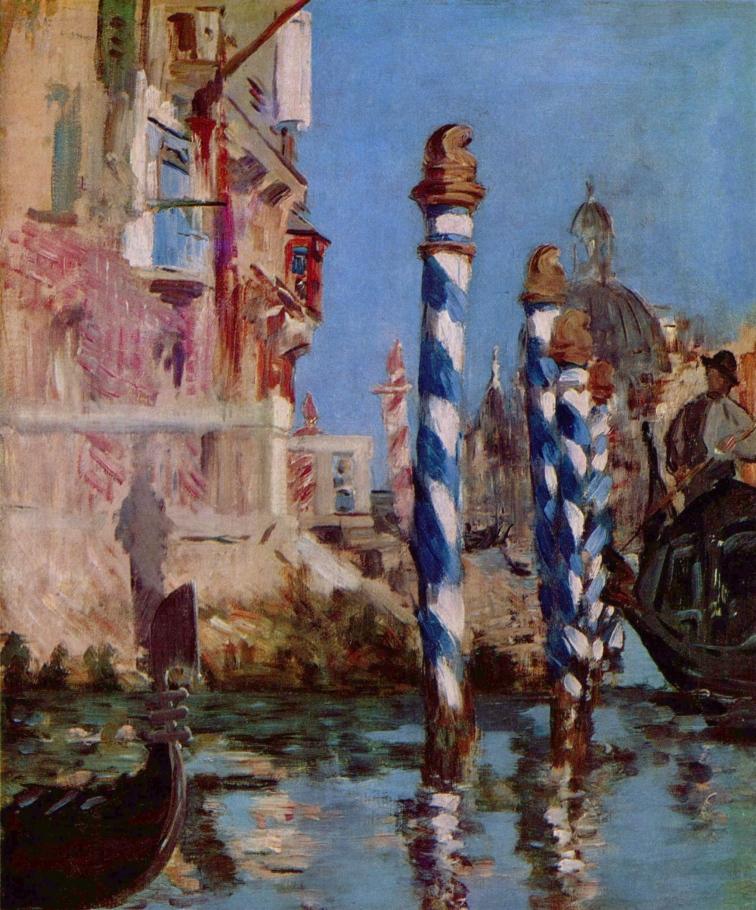 Le Grand Canal, Venise. Édouard Manet