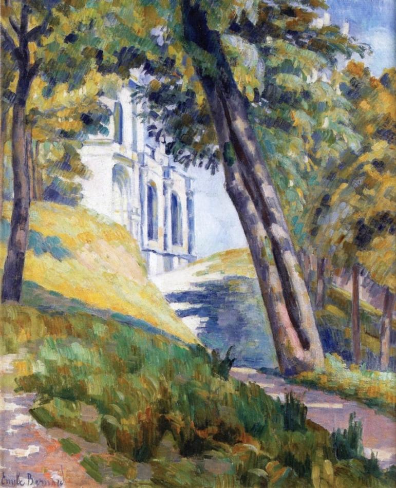 Chemin de l'église Saint-Pierre, Émile Bernard