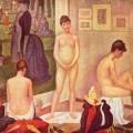 Les Poseuses, Georges Seurat