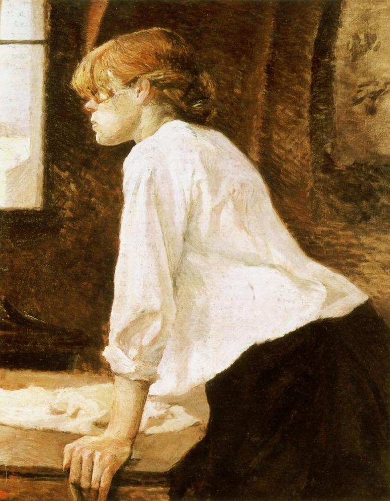 Lautrec, La Blanchisseuse