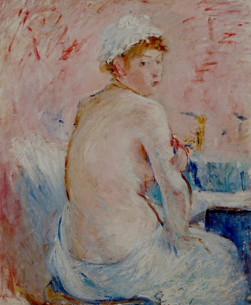 Morisot, Nu, vu de dos