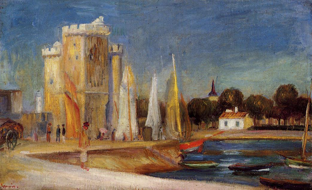 Le Port de La Rochelle, Pierre-Auguste Renoir