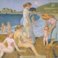 Baigneuses à Perros-Guirec, Maurice Denis