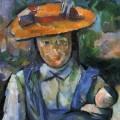 Jeune fille à la poupée, Paul Cézanne