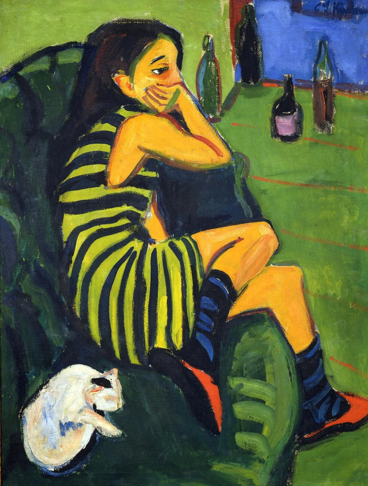 Marcella, l'artiste. Ernst-Ludwihg Kirchner