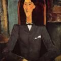 Portrait de Jean Cocteau - Amedeo Modigliani