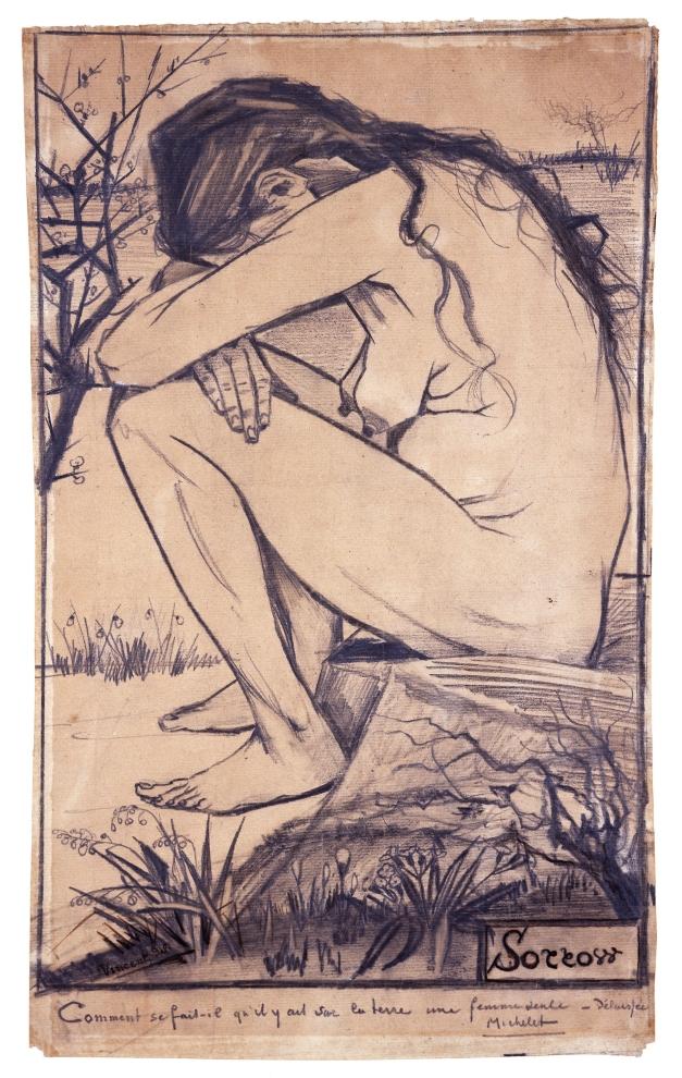 1Sorrow (Chagrin) Vincent van Gogh