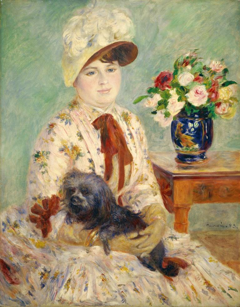 Portrait de Charlotte Berthier, Pierre-Auguste Renoir