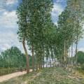 Bords du Loing près de Moret, Alfred Sisley
