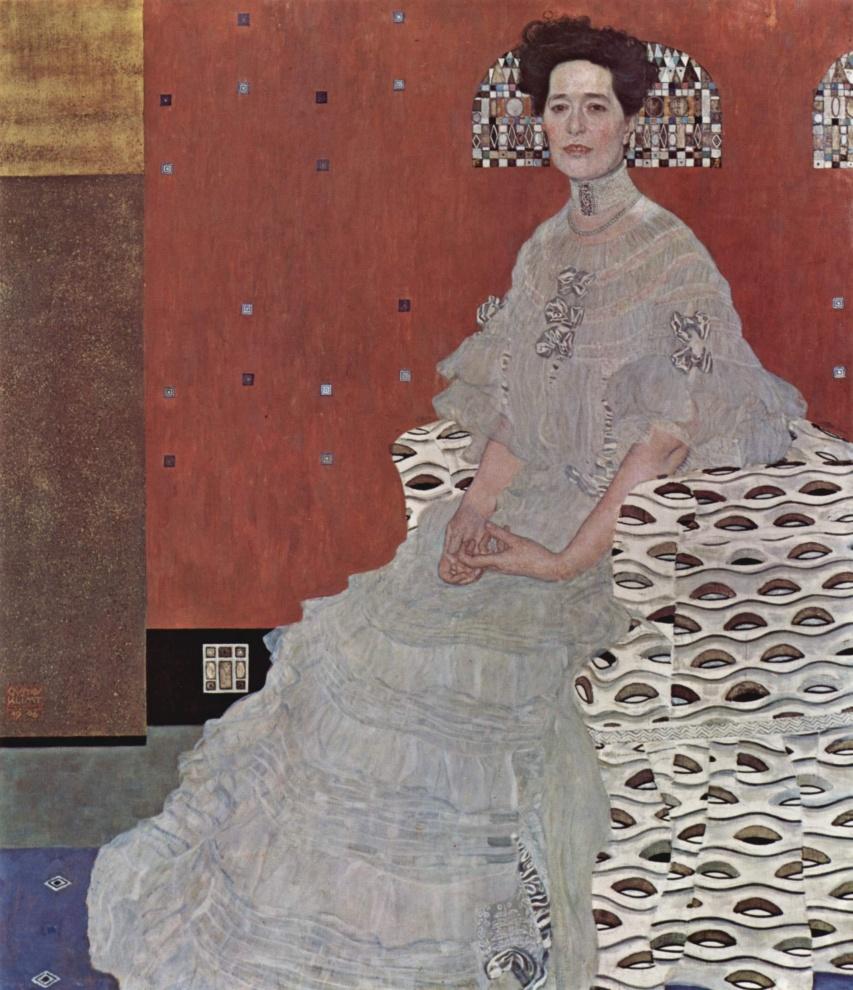 Portrait de Fritza Riedler, Gustav Klimt