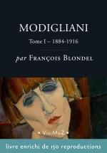 Modigliani tome 1 - biographie enrichie - livre numérique Beaux-Arts