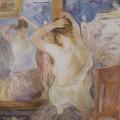 Devant la psyché, Berthe Morisot