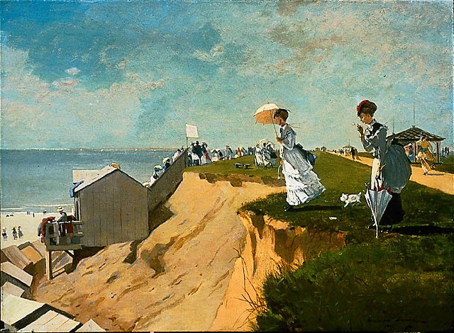 Long Branch, New Jersey, Winslow Homer
