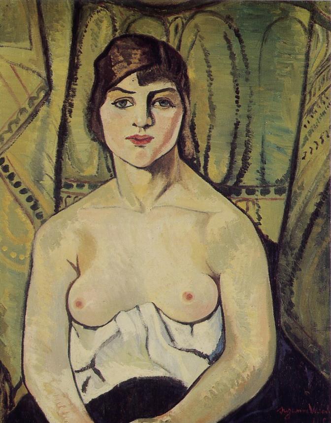 Autoportrait, Suzanne Valadon
