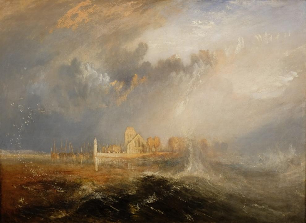 Quilleboeuf, estuaire de la Seine, J.M.W. Turner