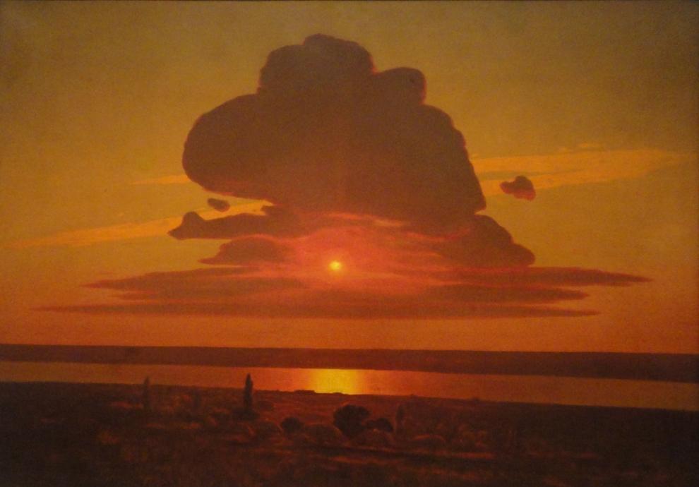 Coucher de soleil sur le Dniepr, Archip Kuindzhi
