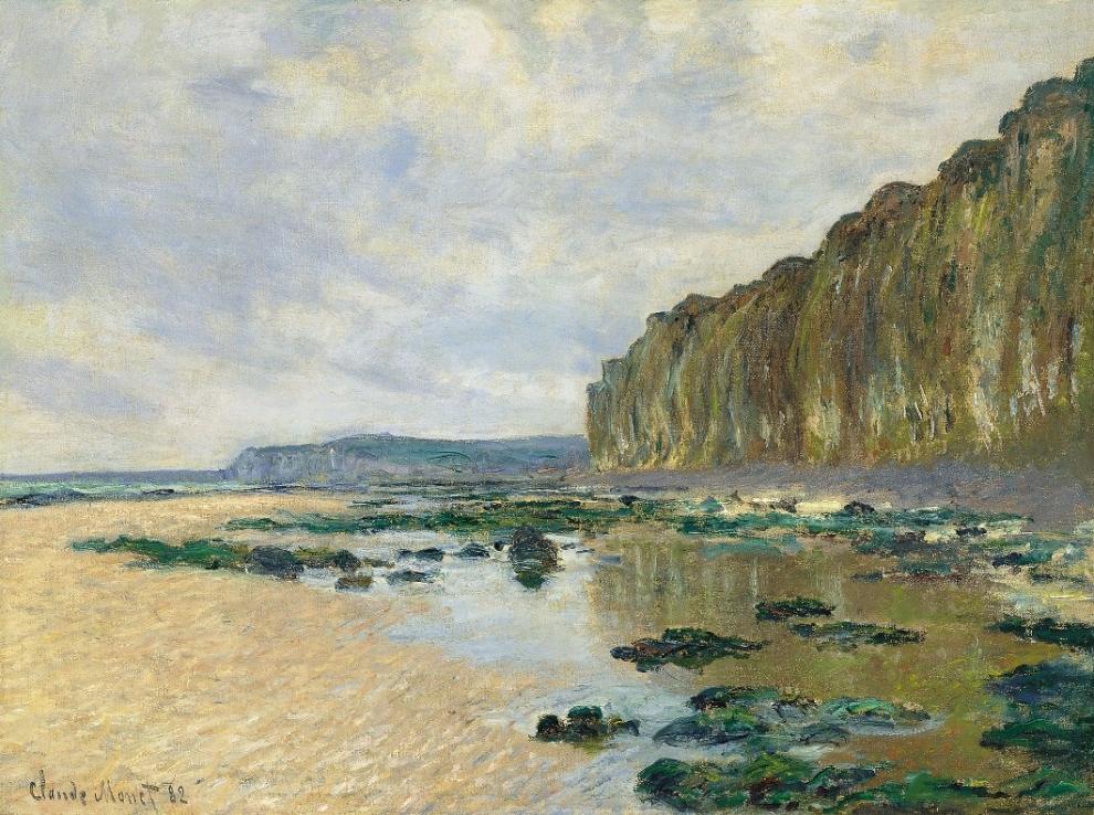 Marée basse à Varengeville, Claude Monet