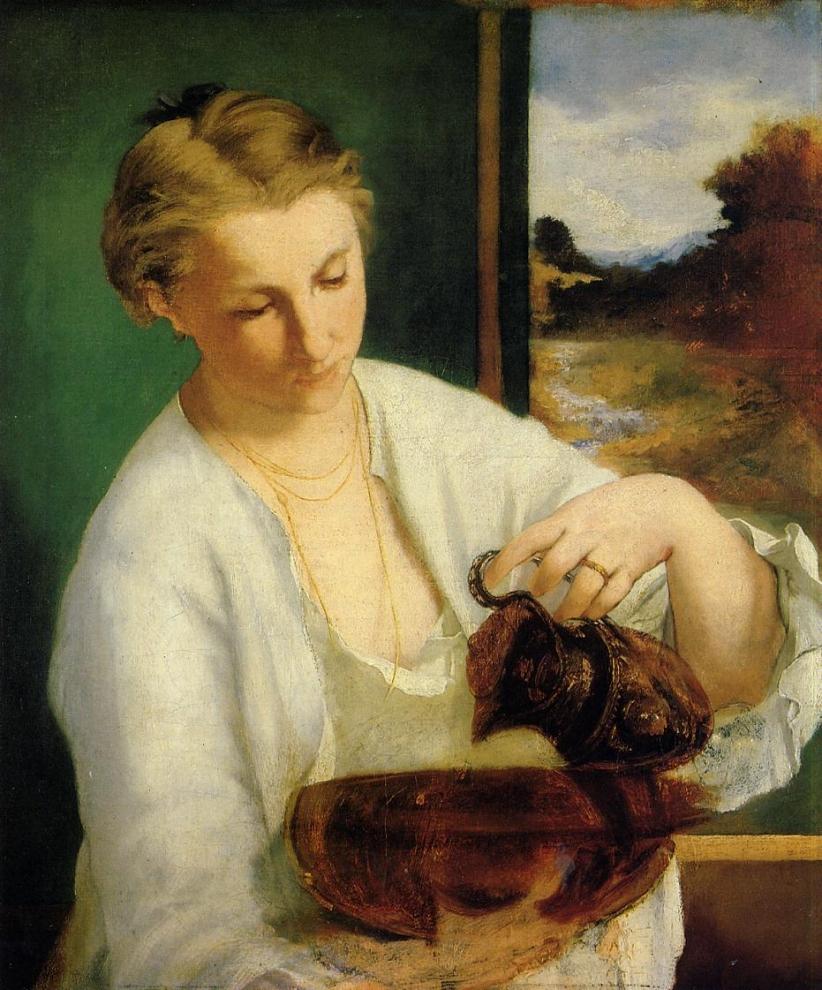 Suzanne Manet à la cruche