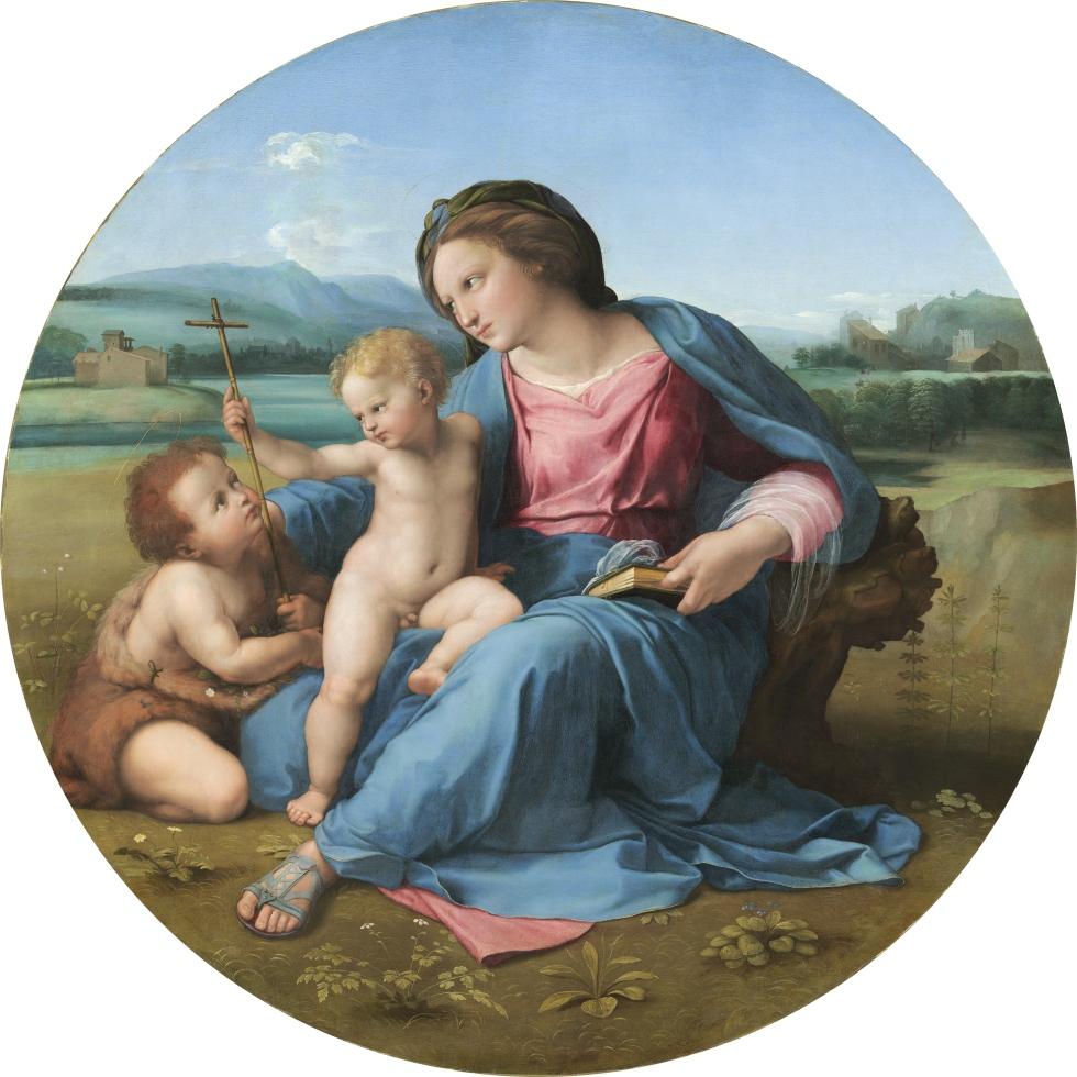 La Madone Alba, Raphaël