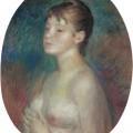 Jeune femme aux seins nus, Pierre-Auguste Renoir