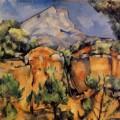 La Montagne Sainte Victoire vue depuis la carrière de Bibemus, Paul Cézanne