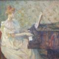 Misia au piano, Toulouse-Lautrec