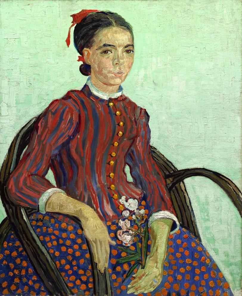 La Mousmé, Vincent van Gogh