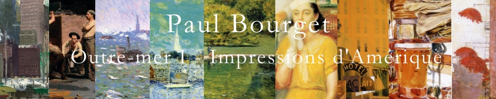 Paul Bourget, Outre-mer 1