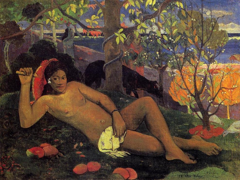 La Femme aux mangues, Gauguin, musée Pouchkine
