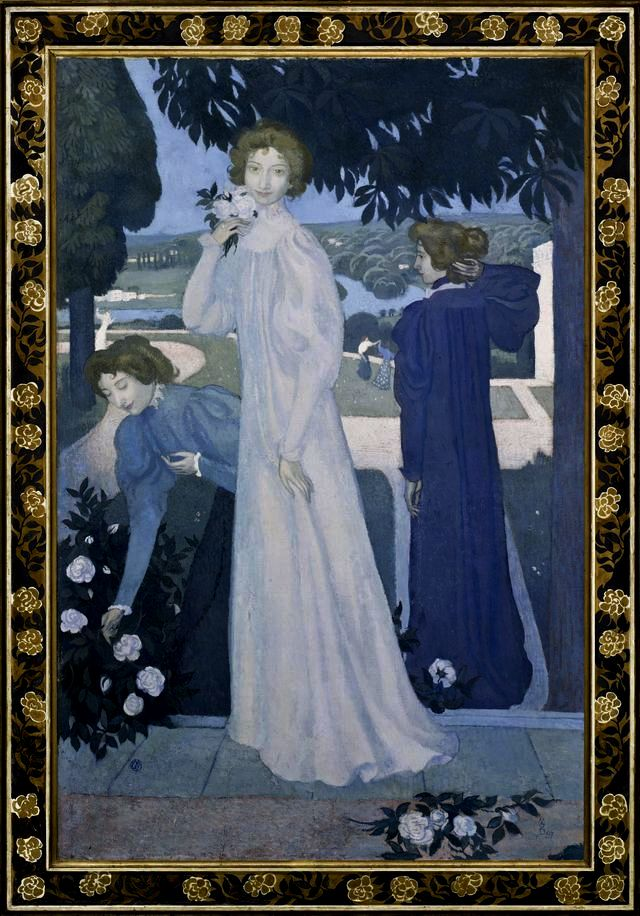 Maurice Denis Triple portrait d'Yvonne Lerolle