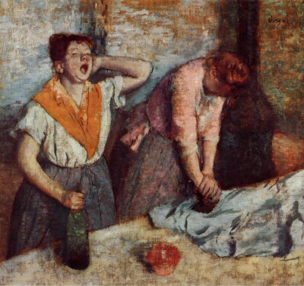 Degas Repasseuses