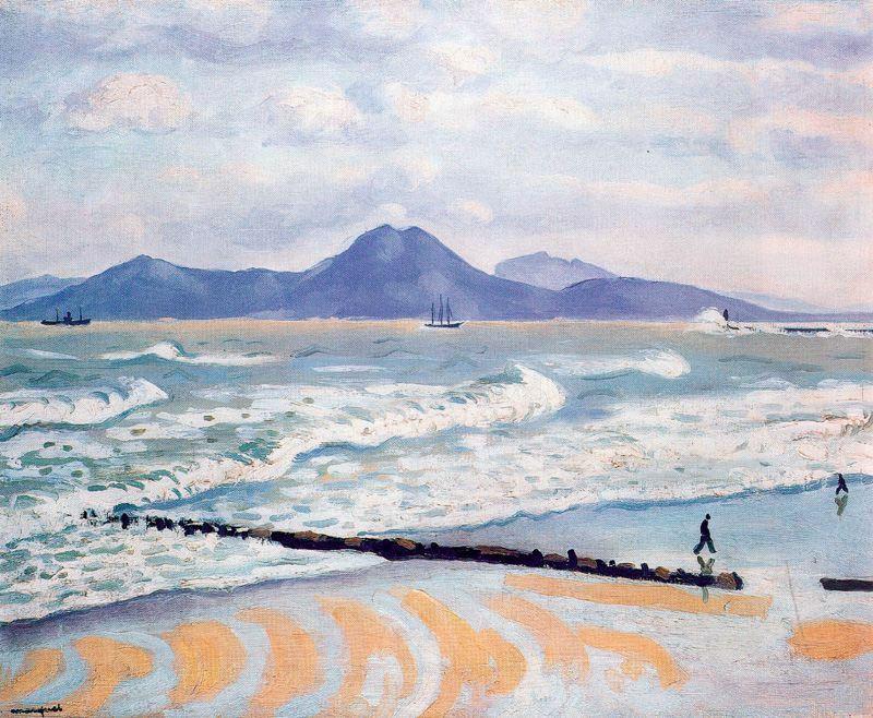 Tempête à la Goulette, 1926, Albert Marquet, musée des Beaux-Arts de Bordeaux